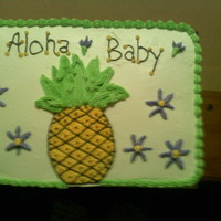 Stephs Cake Pineapple flavored cake
