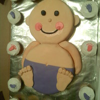 Baby I have made 4 of these cakes now this was the first