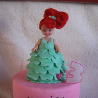 Mini Doll This mini doll was put on top of a castle cake. I thought I'd post the doll since I really really like how it turned out. First time...