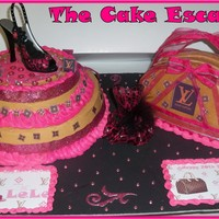 Luis Vuttion Cake And Purse Cake