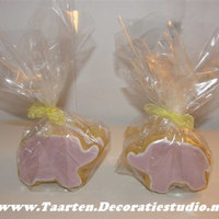 Elephant & Butterfly Cookies! Decorated with royal icing