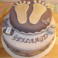 Feet Cake For Graduating Feet Therapy