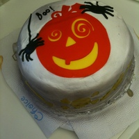 Halloween   Our second cake.
