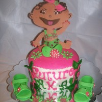 Baby Shower Cake This was made for a baby shower
