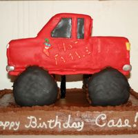 Monster Truck This cake gave me a run for my money! I don't really like the results. What do you think, need feedback.