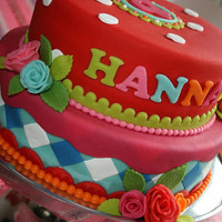 Hannah's Birthdaycake My favorite birthdaycake! For my little girl...