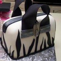 Zebra Stripes Purse Thank you CakesbyLJ for your help! Birthday girl loved the cake.