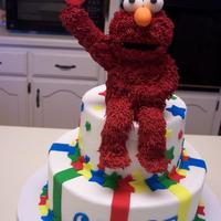 Elmo For Chase Elmo cake for my grandson.