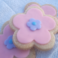 Flower Power Cookies My first time trying MMF over Sugar cookies :-)