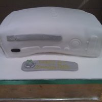 Xbox 360 Cake This Xbox cake was modelled on the actual Xbox, so all the details are exact, if a little wonky :o) It was for a 9 year olds birthday and i...