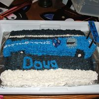 Drag Car Cake I made this for my husband's 30th birthday, he loves drag racing and I could not find anything on the internet with an idea. It was...