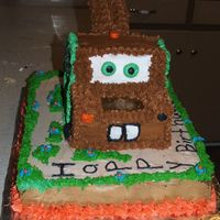 Tow Mater Cake This is a different view