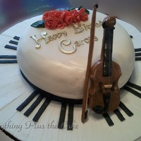 Musical Birthday She plays Violin and Piano. I got this idea from a cake I saw on Flickr. She said she got the idea from a cake on Cake Central. Everything...