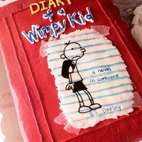 Diary Of A Wimpy Kid Chocolate cake, cookies & cream filling, Buttercream