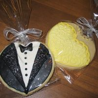 Wedding Cookies NFSC with antonio icing