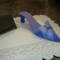 My 1St Gumpaste Shoe So fun to make! Thanks CC for the template & inspiration!
