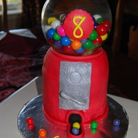 Gumball Machine This cake was sooooo much fun to make. Inspiration for this one came from many CC cakes. The customer LOVED it!