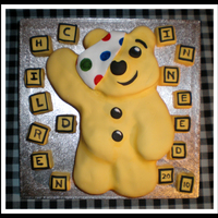 Carity Children In Need Cake
