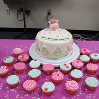 Angel Baby Shower Cake   Thank Heaven for Little Girls
