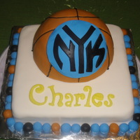 New York Knicks For my brother's 26th birthday