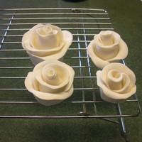 My First Attempt At Gumpaste Roses This is my first ever attempt at gumpaste roses. Ok added my purple ones too. I tried a bunch of different styles, not sure which looks...