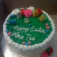 Easter Cake buttercream cake