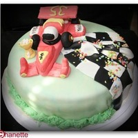 Formel 1 Car Cake   for a formel 1 car lover