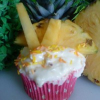 Pineapple Cupcake   soooo lovely frech taste