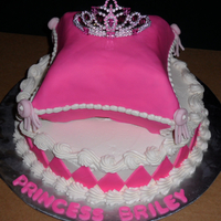A Pillow Cake Fit For A Princess  Located in Kinston NC ....... Cakes by Jana specializes in fresh, made to order cakes for weddings, birthdays, bridal showers, baby showers...