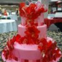 Valentine's Day Cake From Art Of The Cake This beautiful Valentine's Day cake was created by Peggy Tucker, Professional Cake Artist, at the Art of the Cake show in Cleveland...
