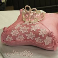 Princess Bella's 1St Birthday Cake