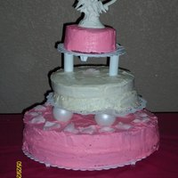 My Best Firends Wedding This was my first attempt at several things: 1. A wedding Cake 2. A tiered cake. 3. Icing a cake with a bride standing over my shoulder....