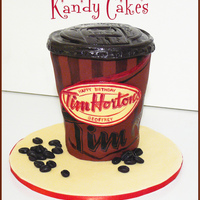 Tim Hortons Coffee Cup Cake~