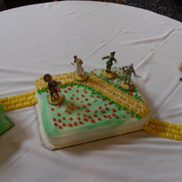 Wizard Of Oz Wizard of Oz cake for my 4 year old niece