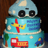 Brandon's 1St Birthday Cake