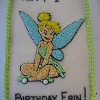 Tinkerbell   One of my less successful cake experiences