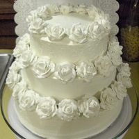 My First Wedding Cake / Mi Primer Torta De Bodas