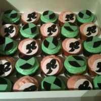 Barbie And Ben 10 Cupcakes