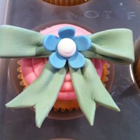 Easter Cupcakes - Bows