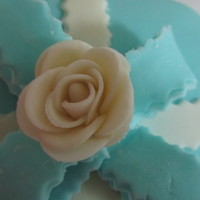 Fondant Flower For The First Time