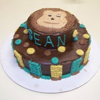 Monkey Baby Shower Colors and Monkey to match baby's nursery