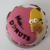 Homer Simpson & His Donuts