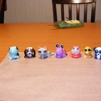 Little Pet Shop Characters I made these and gave them to a little girl who wanted to make her own cake but wanted little pet shop characters for her decorations- they...