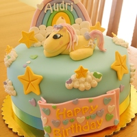 Pony Cake I have had the pleasure of making a birthday cake for my cousin's miracle baby two years in a row now. Audri is a miracle and this is...