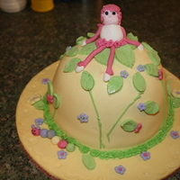 Springtime Fairy This is a spring bonnet cake. This is my second cake.