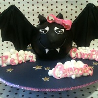 Hello Batty I used the Lyndy Smith design and add a few extra girly touches!! It was for a friends niece?s birthday, she loves Bats!? She loved this...