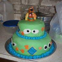Scooby Doo I made this for my son's 4th birthday. He loved it and it tasted good even better!