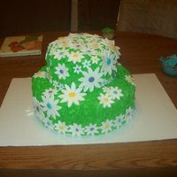 Birthday Daisy Cake