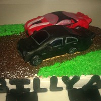 Cars My hubs bday cake