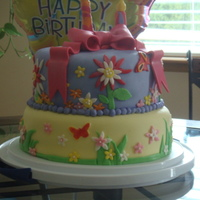 Butterfly Birthday Cake. All MMF